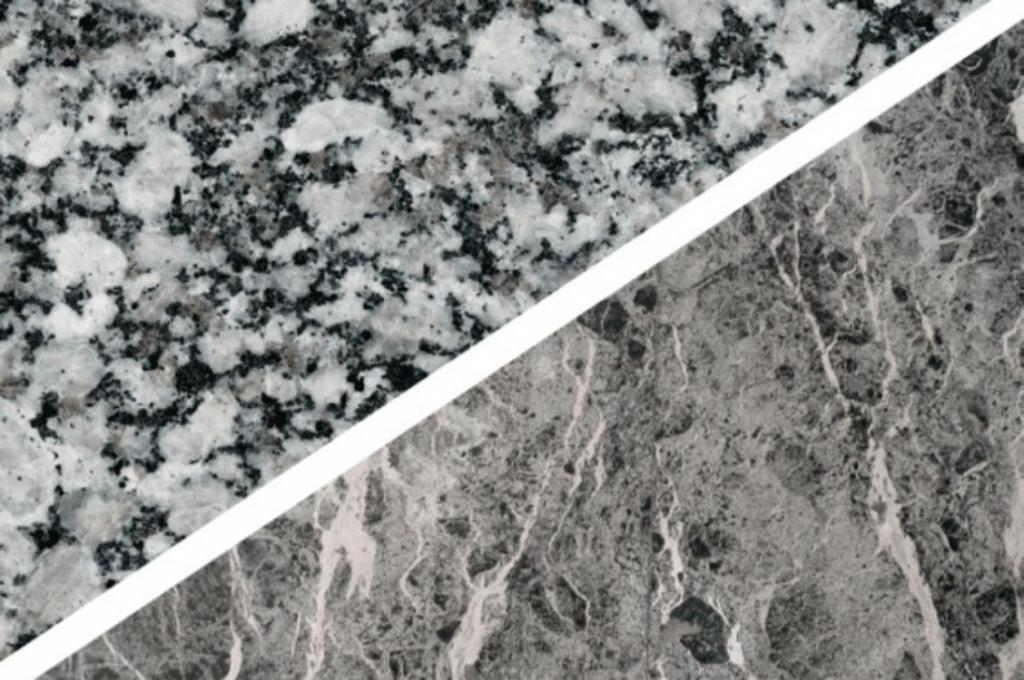 Различия между мрамором и гранитом