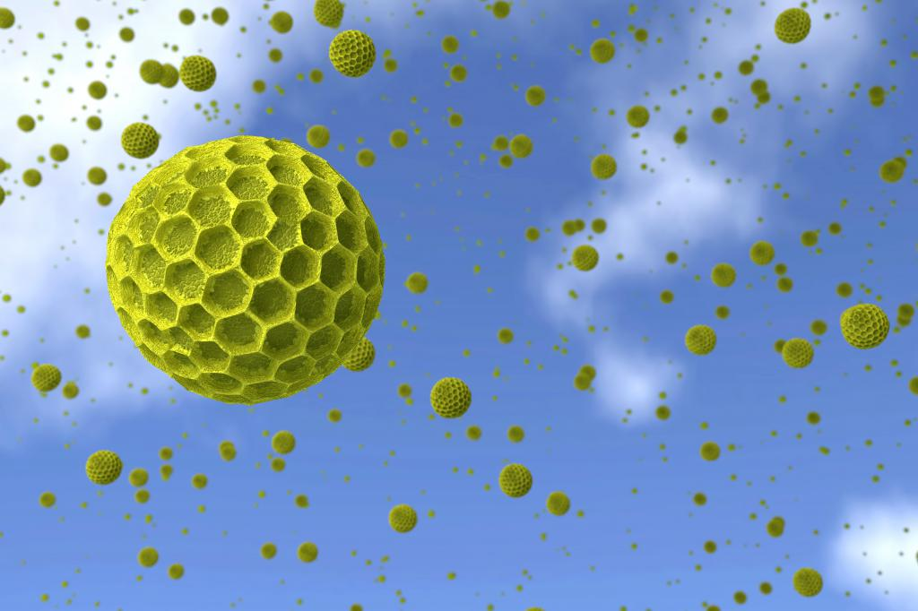 Аллергены в воздухе