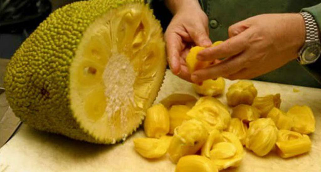 как чистить джекфрут