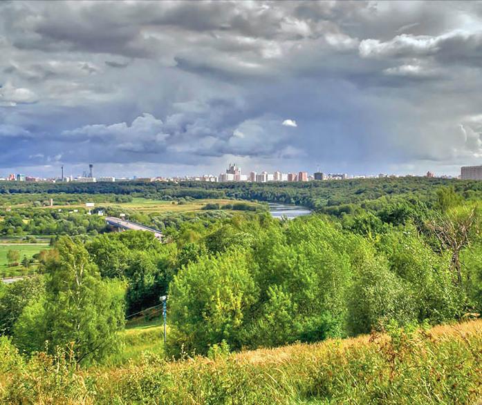 Вид с Крылатский холмов