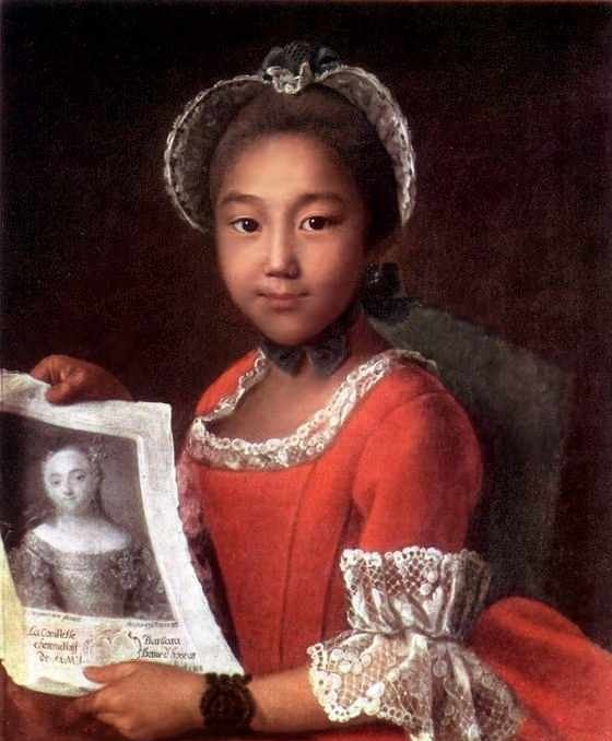 Портрет калмычки Аннушки