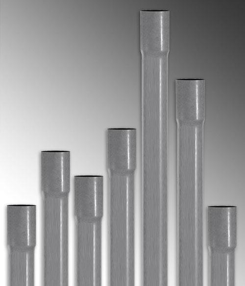 Круглые воздуховоды из пластика
