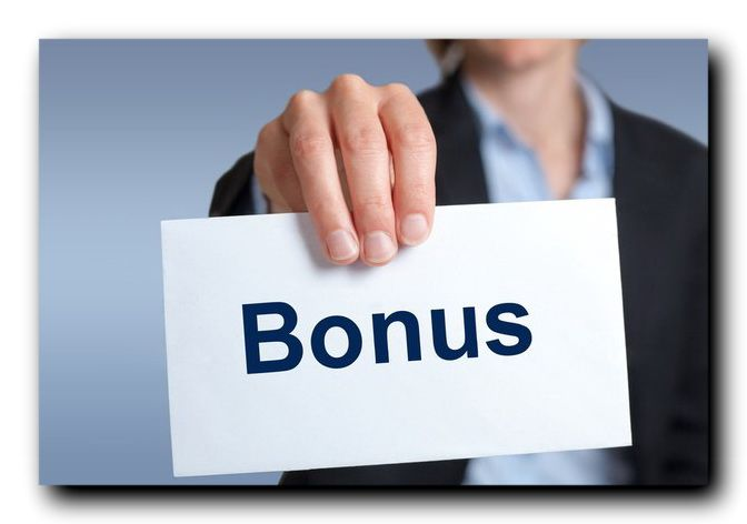 Бонусы от банка