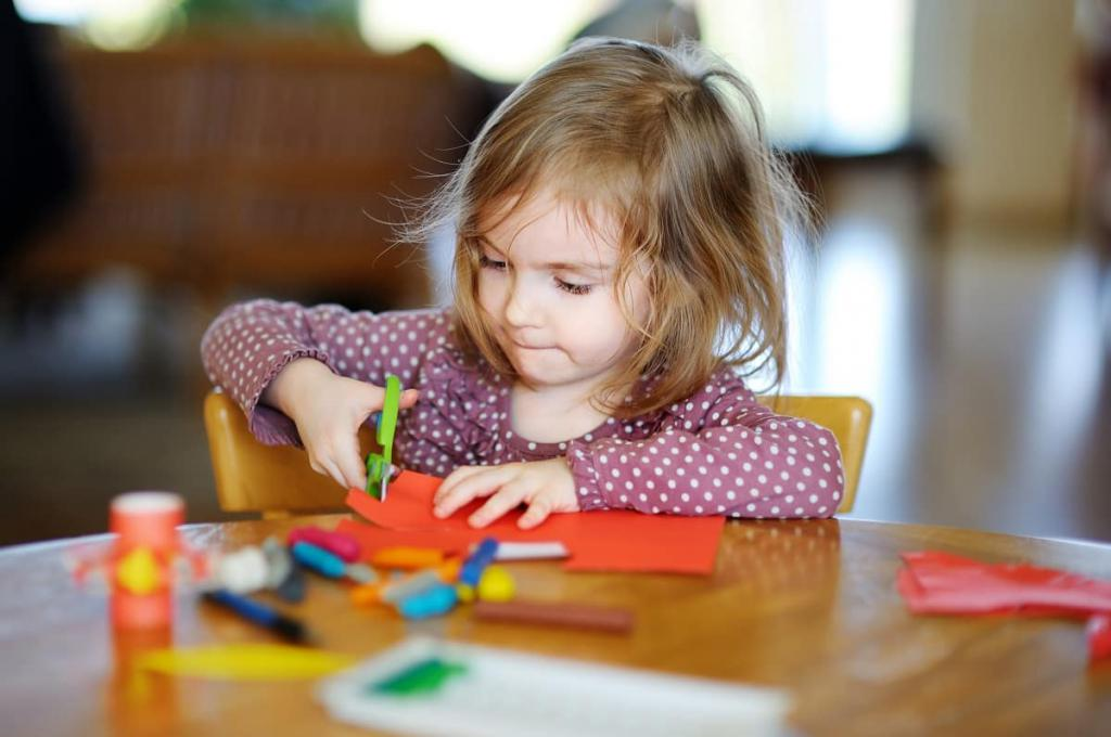 особенности развития внимания у дошкольников