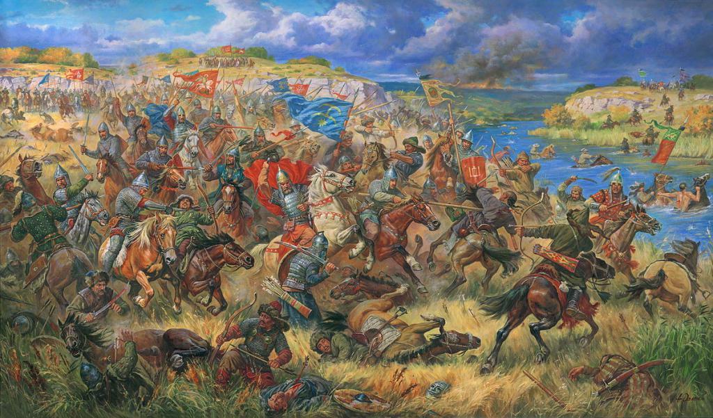 приток дона близ места куликовской битвы
