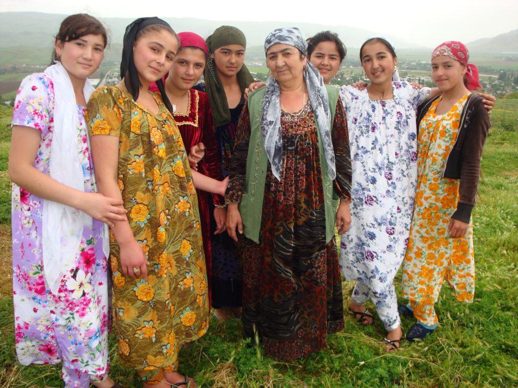 Группа таджичек