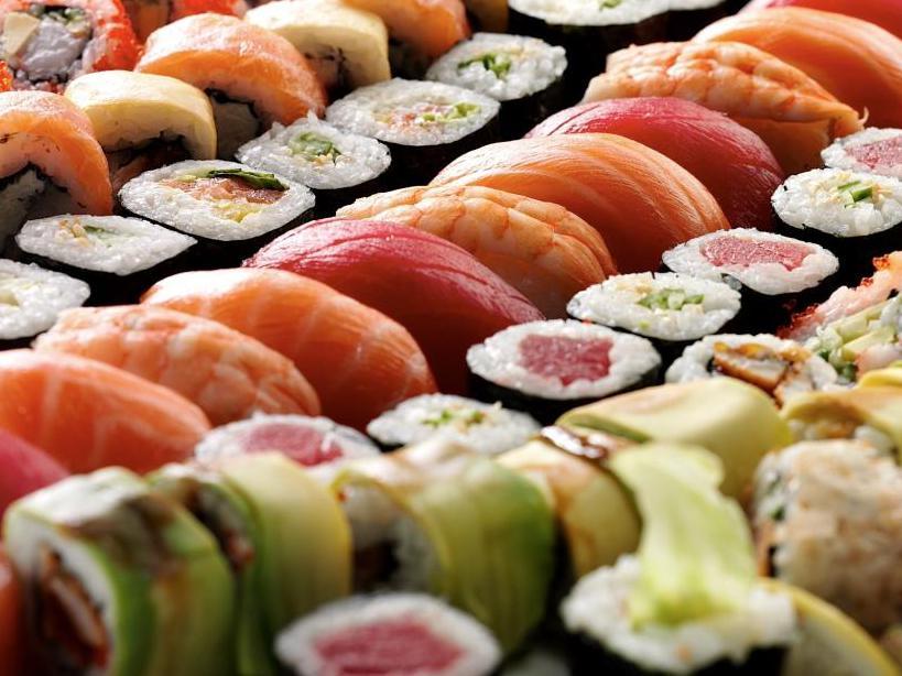 Японские блюда.