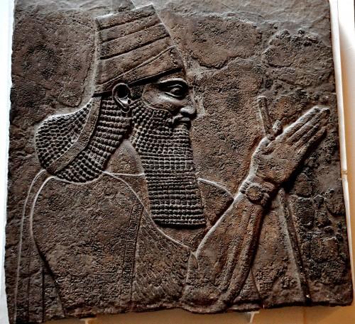 Археологические находки (портрет одного из царей)