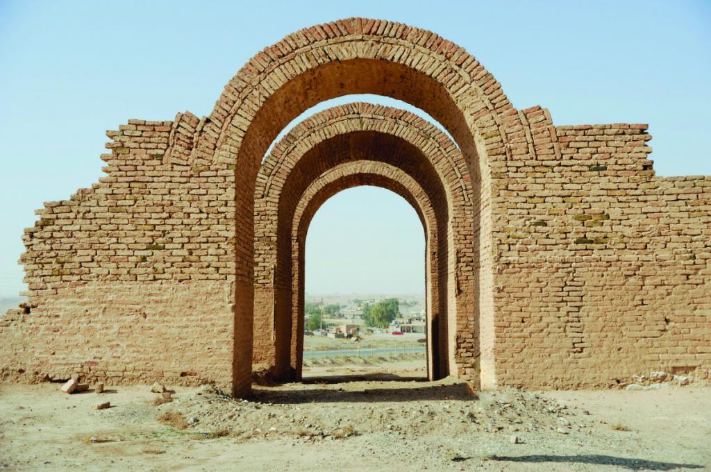 Руины храмов
