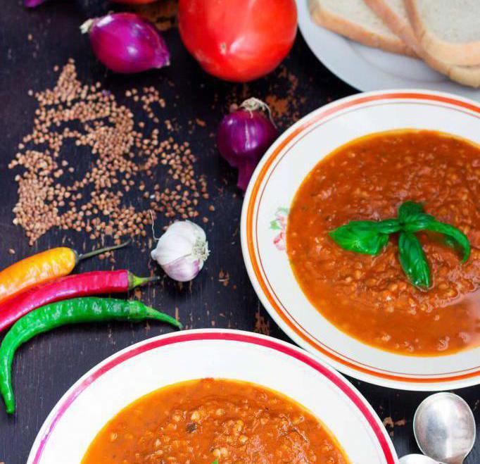 калорийность гречневого супа