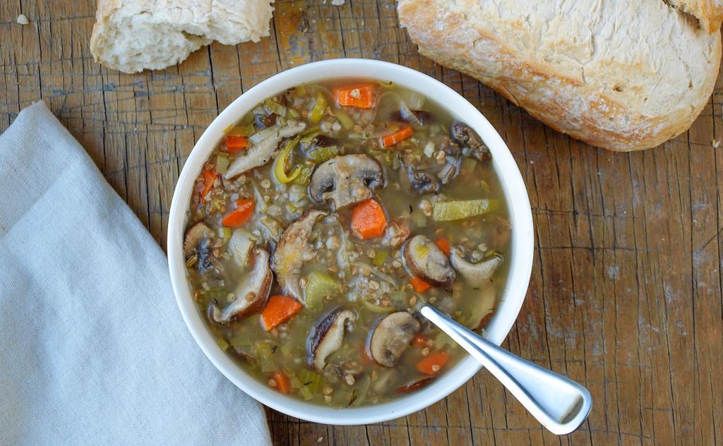простые постные супы