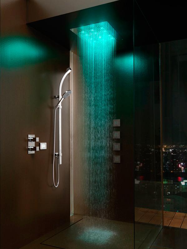 душ для расслабления