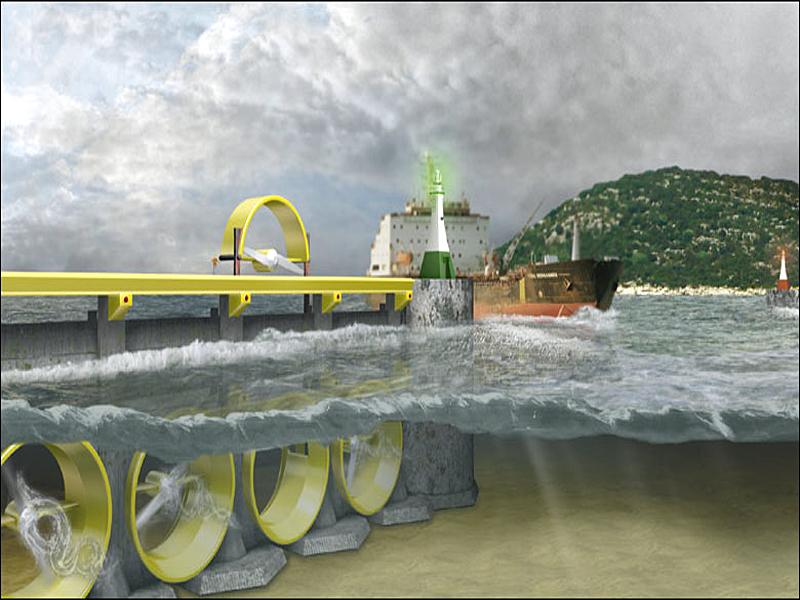Предполагаемое фото Пенжинской ПЭС