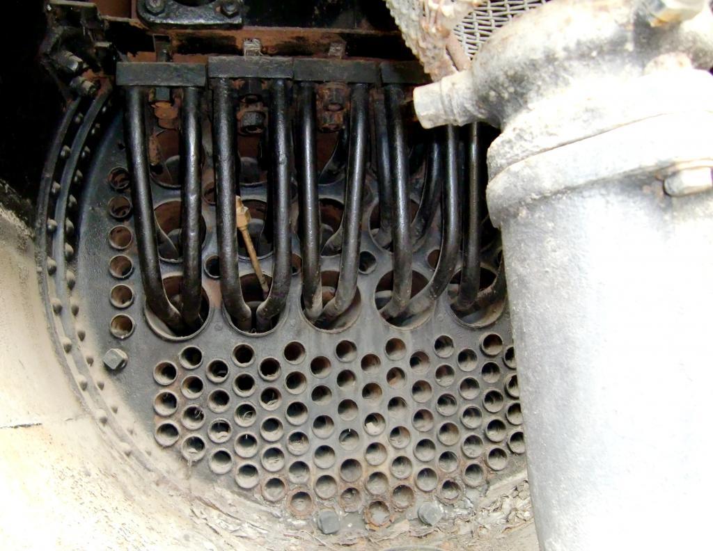 Пароперегреватели для водяного котла