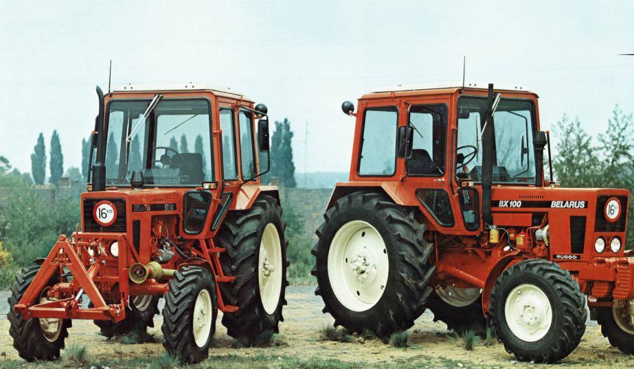 """Техническое обслуживание трактора """"Беларус"""""""