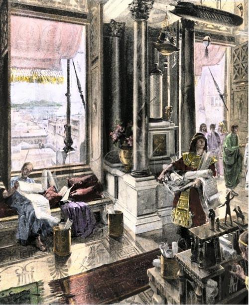 библиотека в александрии египетской
