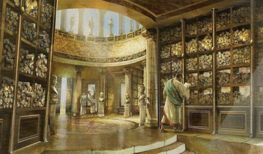 библиотека и музей в александрии египетской
