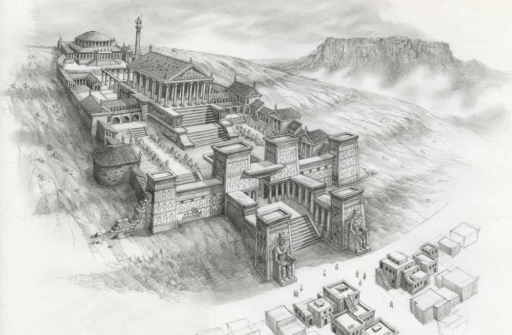 что представляла собой библиотека в александрии египетской