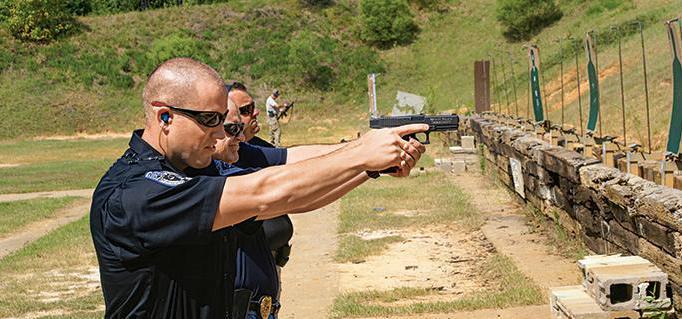 тренировки полиции