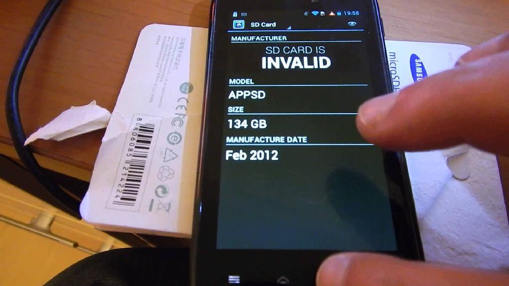 андроид не видит флешку из-за неподдерживаемого объема