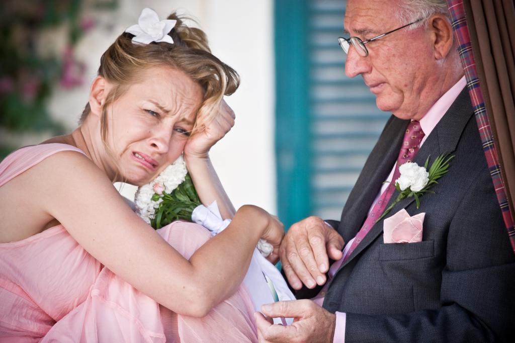 огорченная невеста