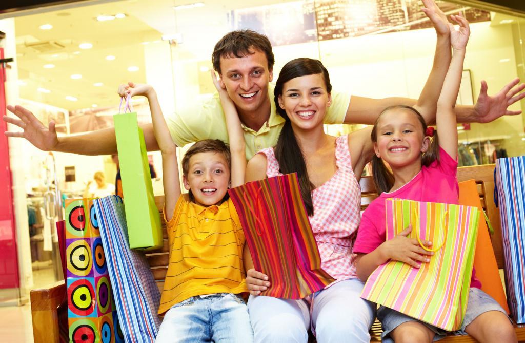 шопинг всей семьей Челябинск