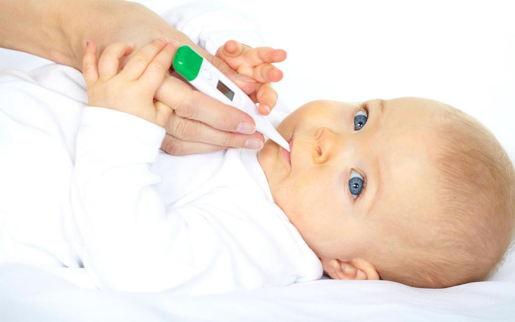как ребенку измерить температуру
