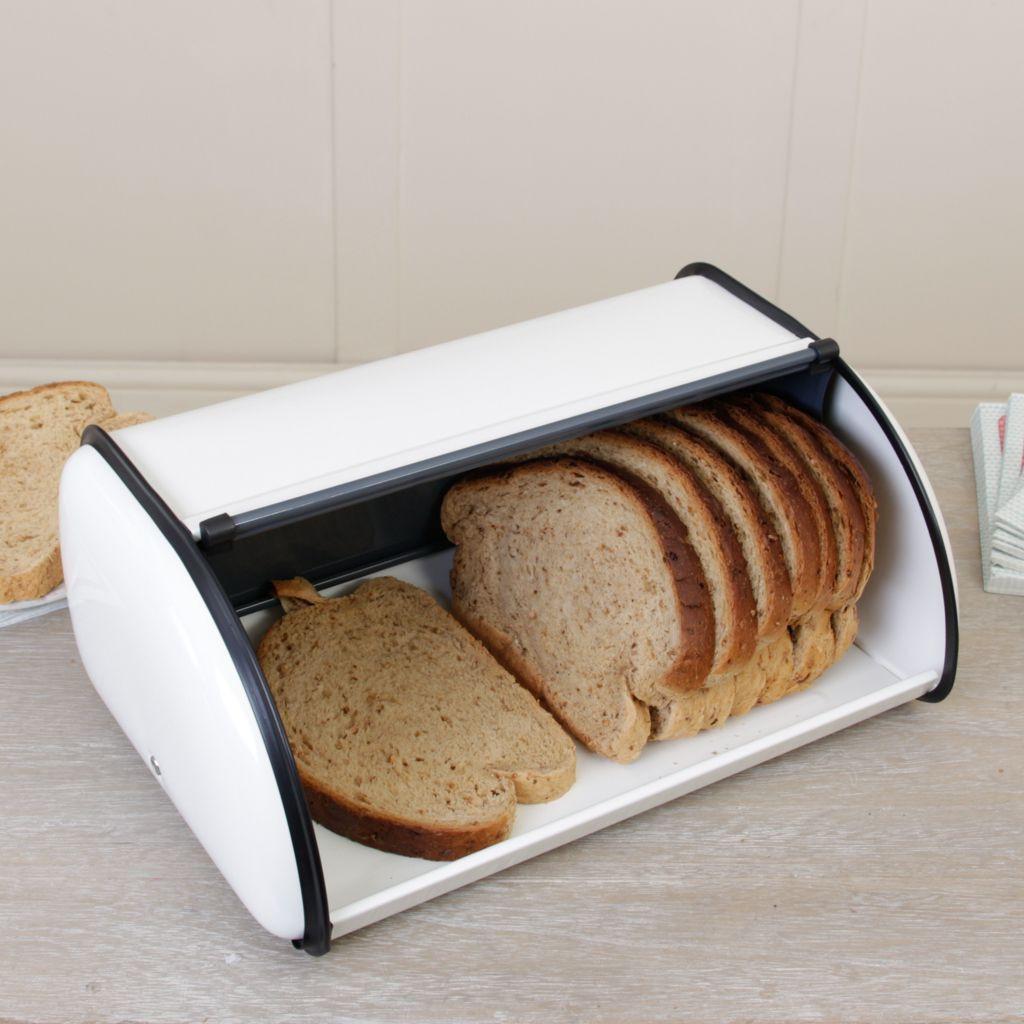 металлическая хлебница