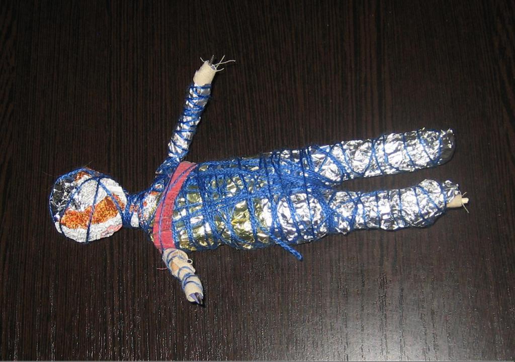Готовый каркас для куклы