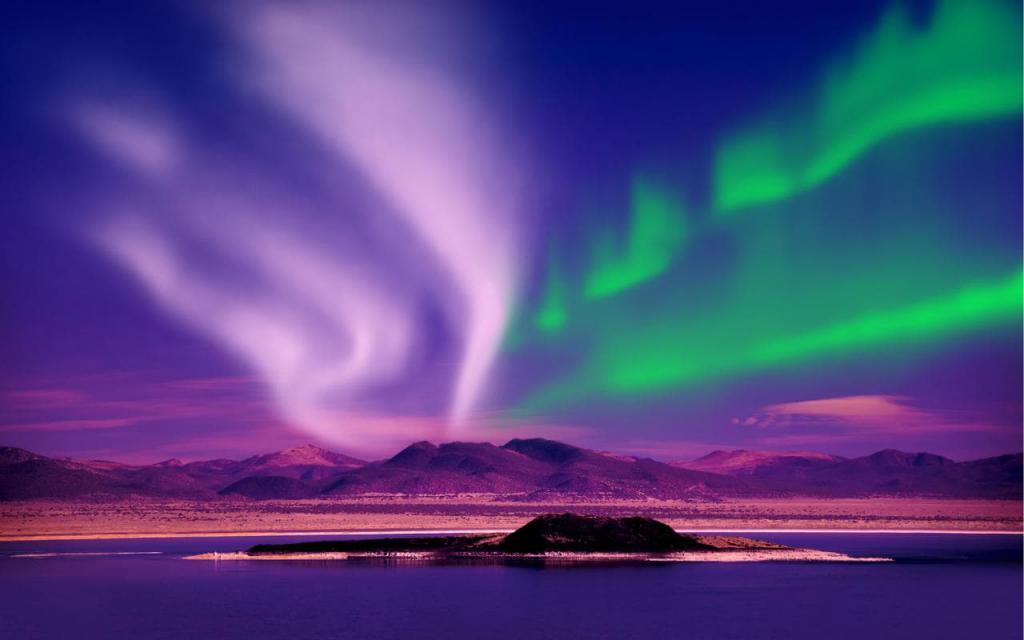 Когда в Норвегии можно увидеть северное сияние
