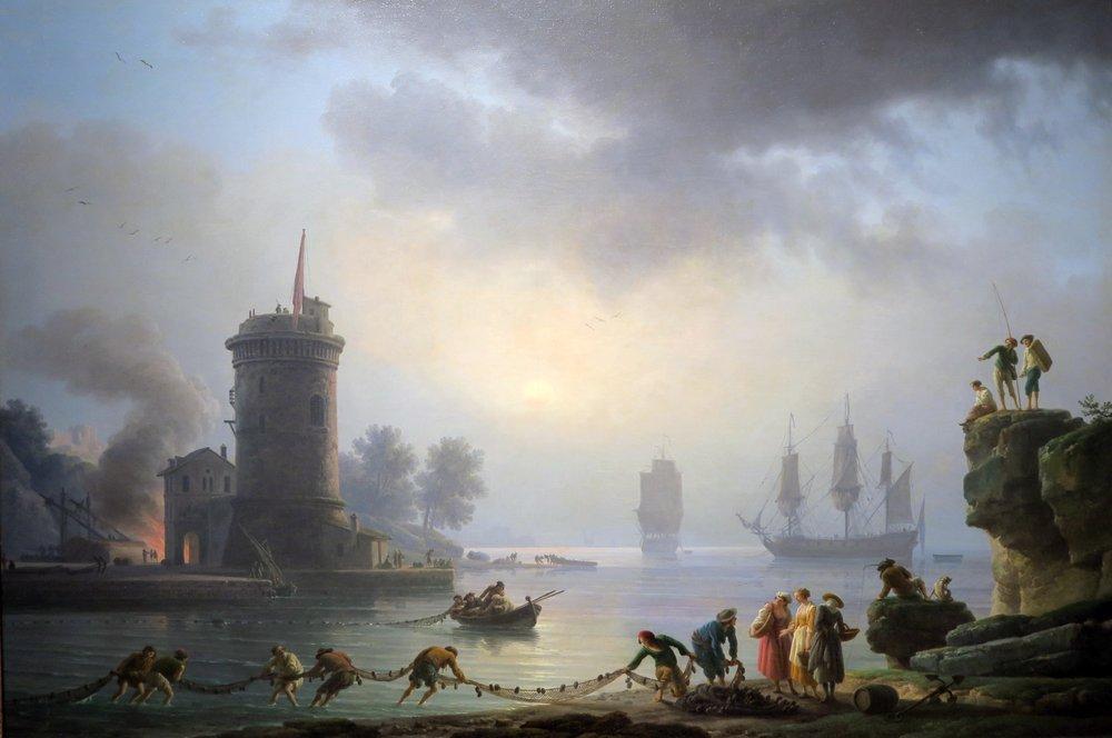 The Morning, Port Scene; 1780