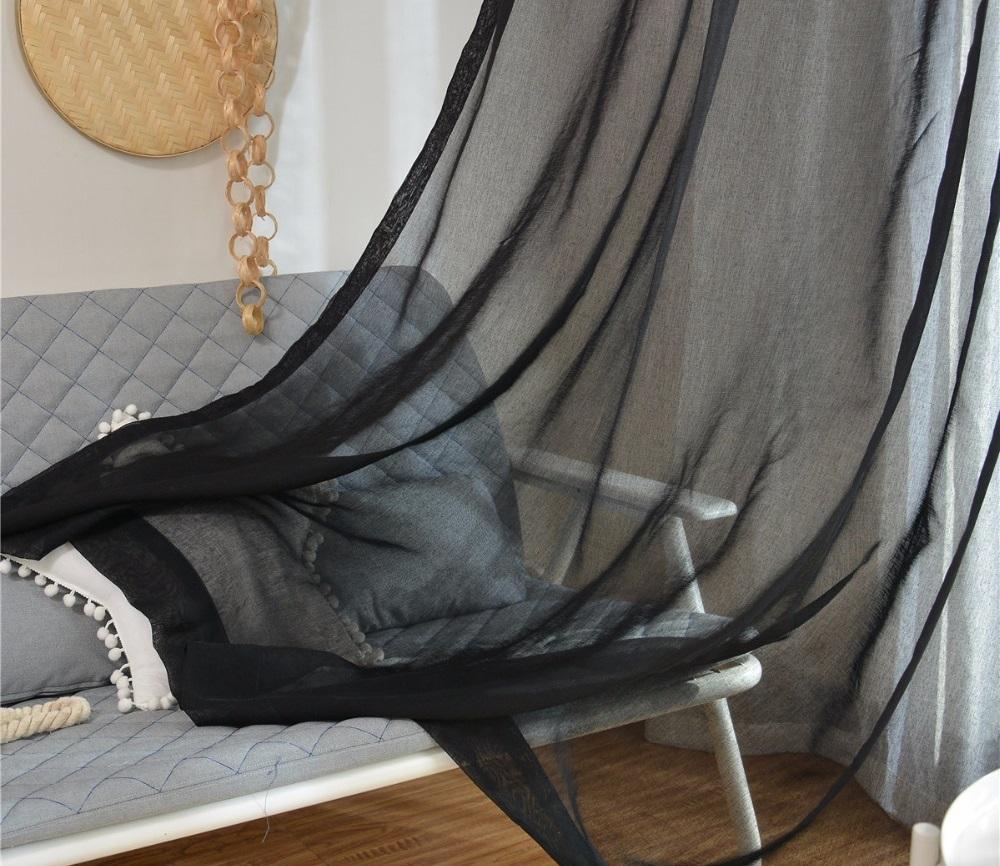 Черный тюль во сне