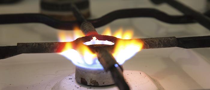 коптит газовая плита в квартире