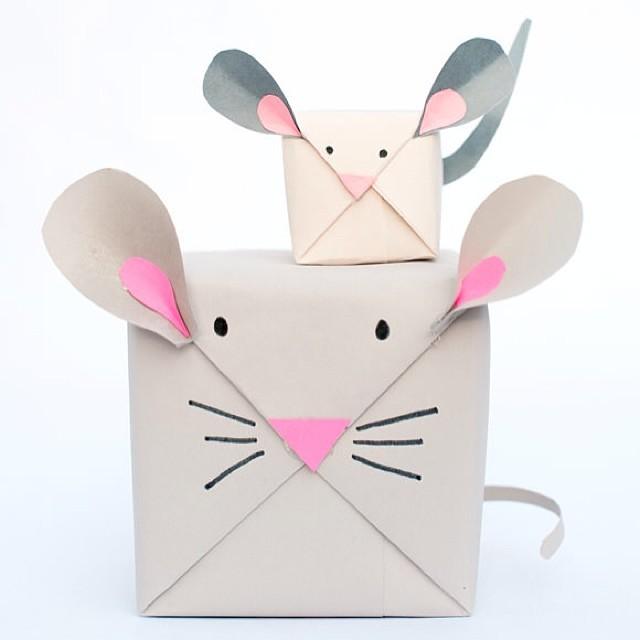 Упаковка в виде мышек
