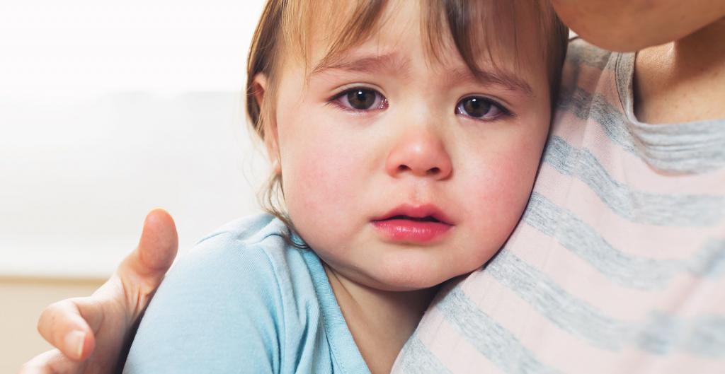 ночная истерика у ребенка 2 лет