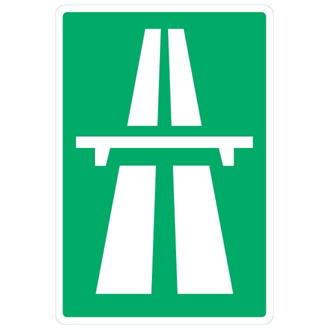 знак автомагистрали