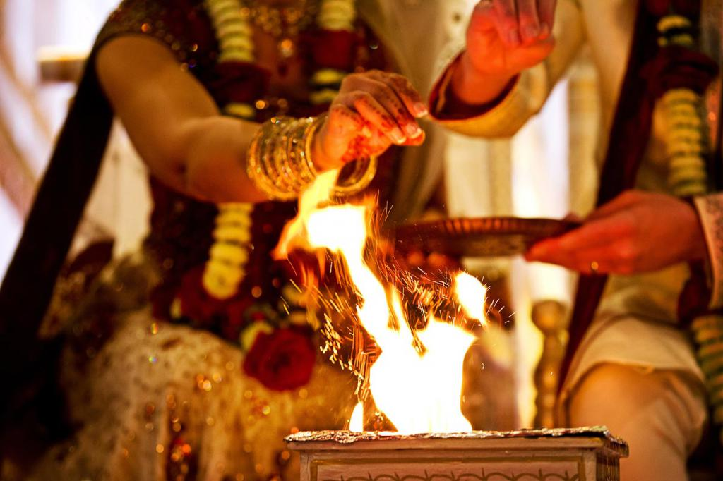 ритуальный огонь