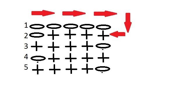 Схема для галстука