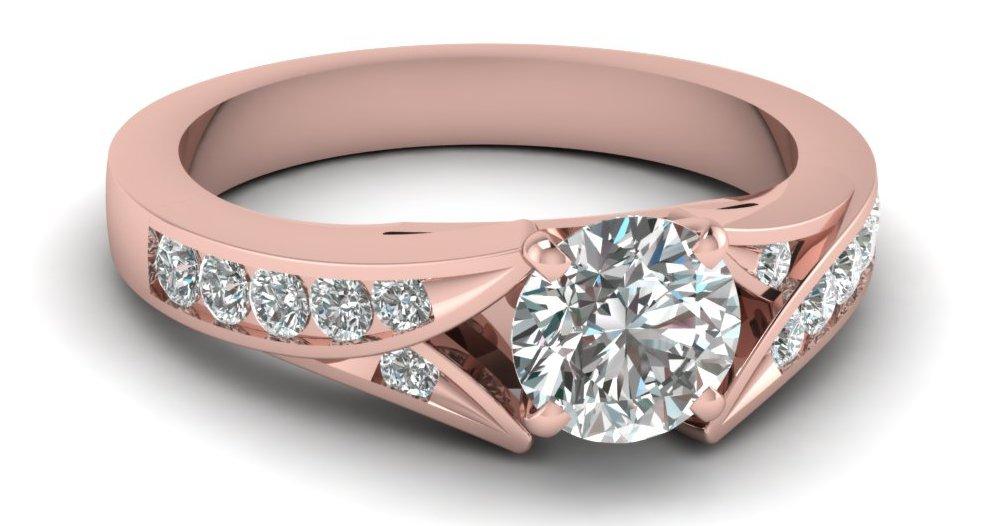 кольцо бриллиантами