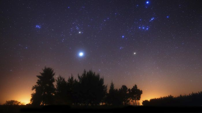 Юпитер в созвездии
