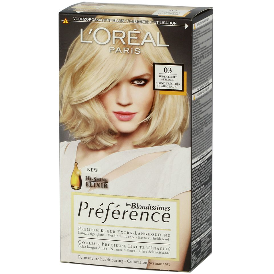 краска для волос блонд