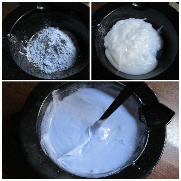 белая краска для волос