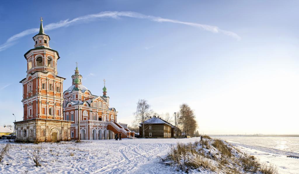 Церковь Симеона Столпника Устюг