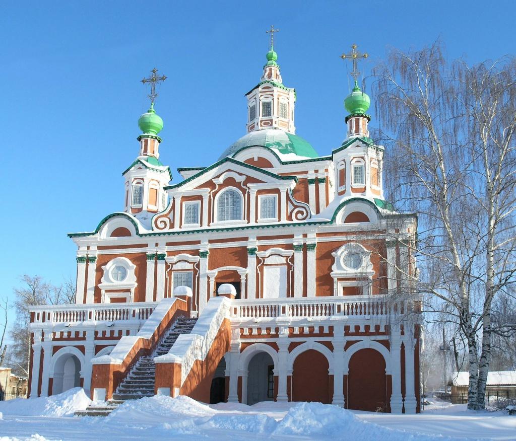 Церковь Столпника Великий Устюг