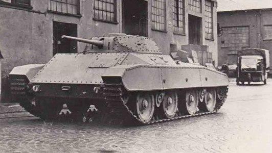 Танки Италии после Второй мировой войны