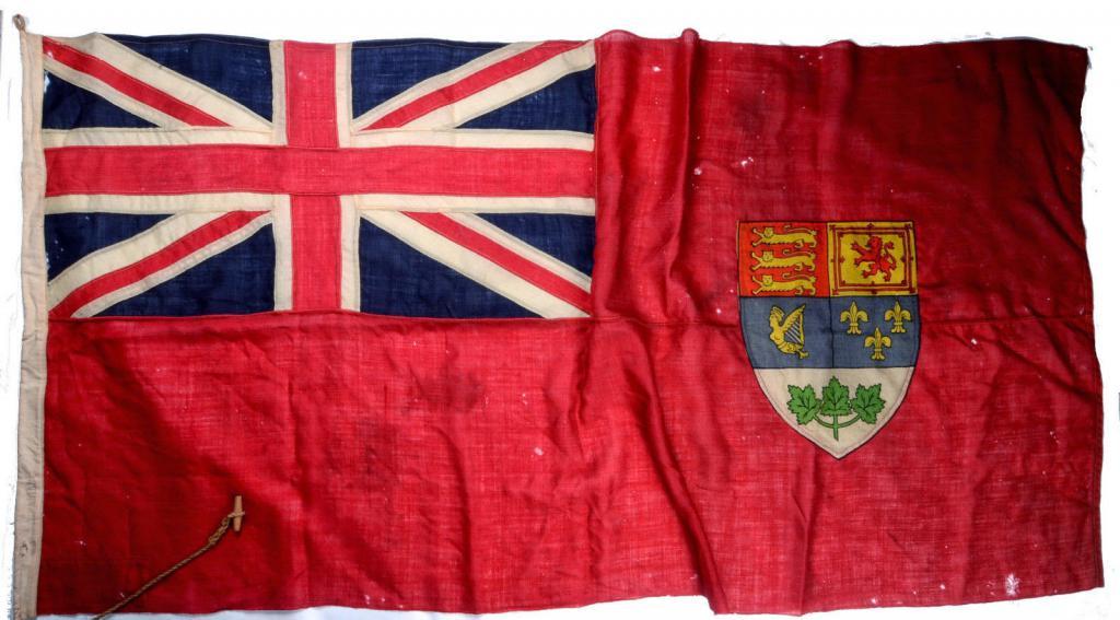 Флаг британского торгового флота в Канаде