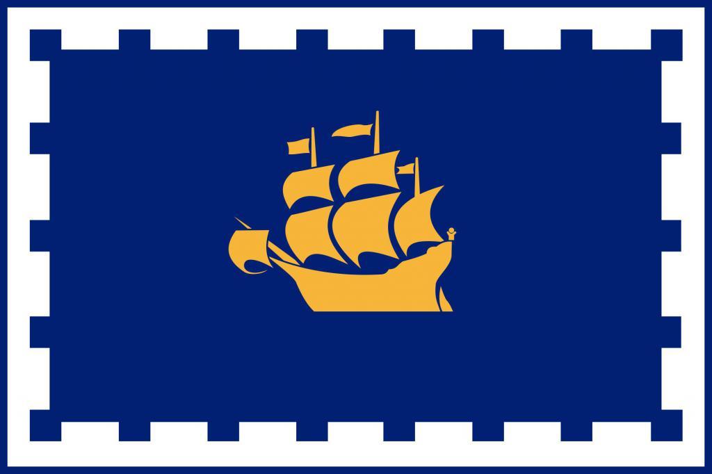 Флаг города Квебек