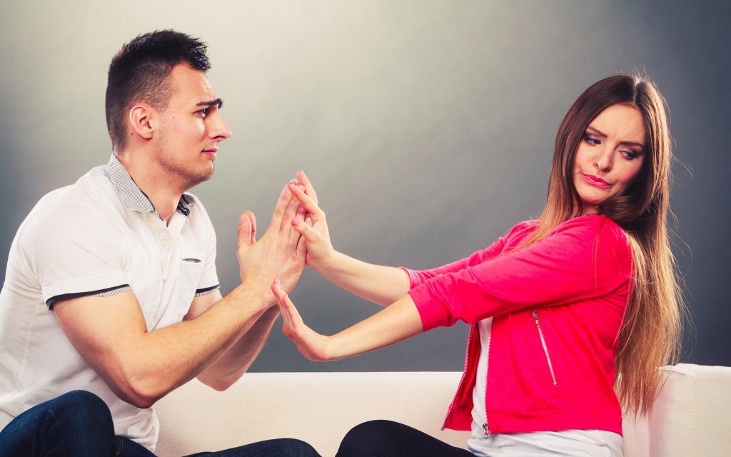 Ссоры и конфликты причина отсутствия секса