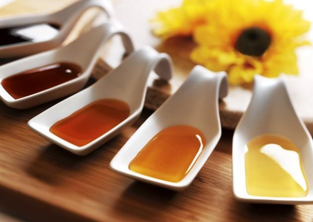 Классификация меда по цвету