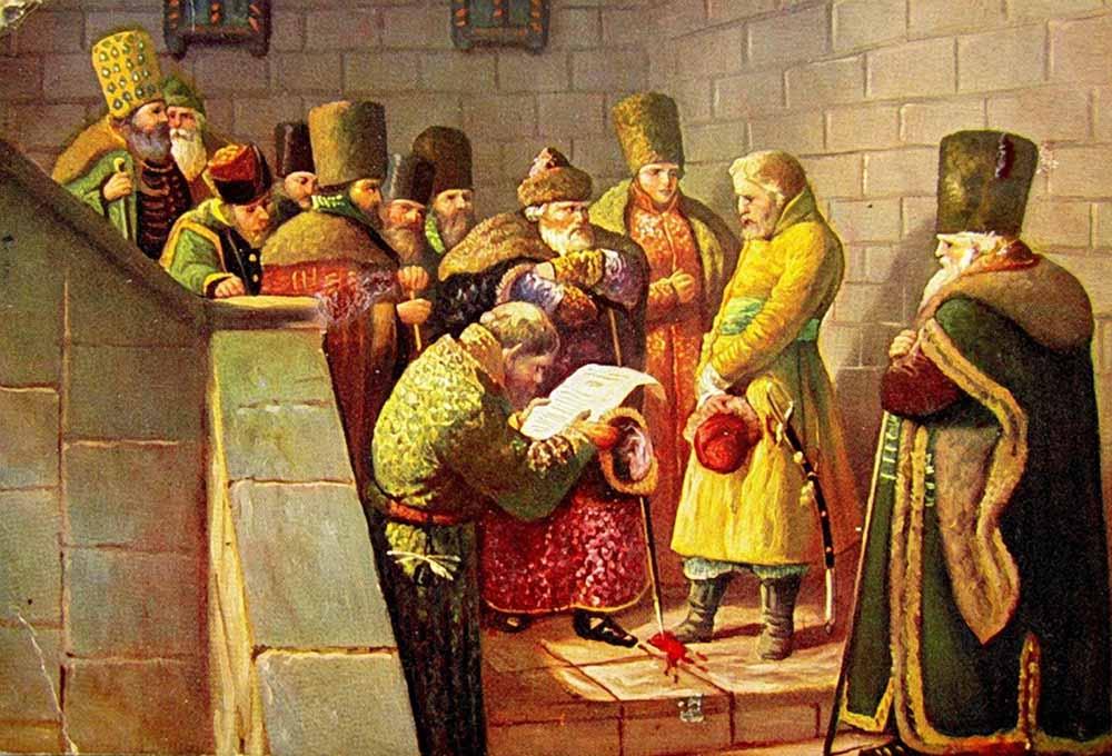 переписка князя курбского с иваном грозным
